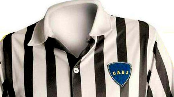 La maglia bianconera del Boca Juniors