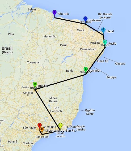 itinerario_Brasile_2011