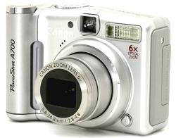 Canon A700