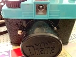 Lomo mini Diana - 35mm