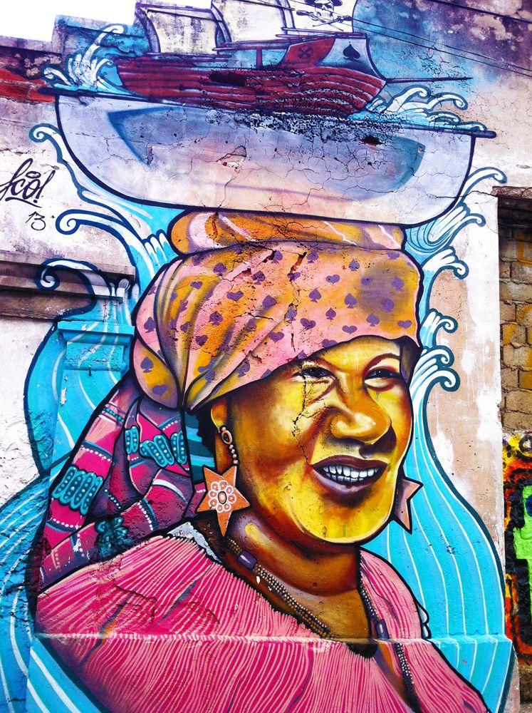 Street Art en Cartagena de las indias - Colombia