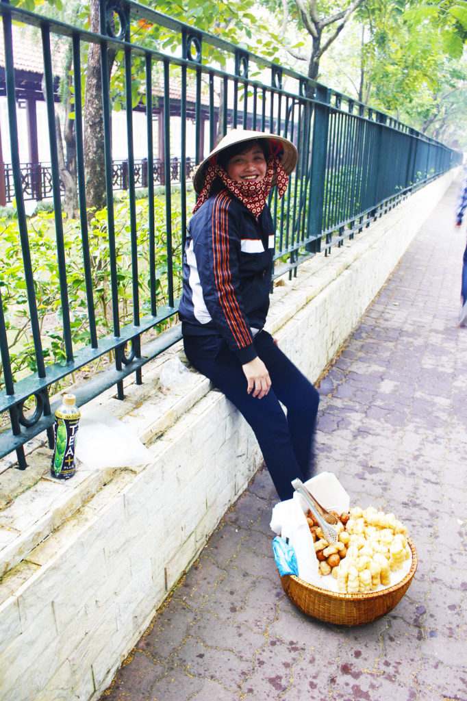 bellezza vietnamita ad Hanoi