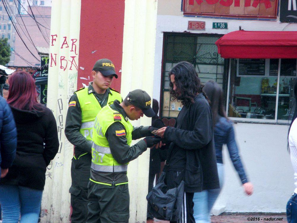 checking Bogotà - Colombia