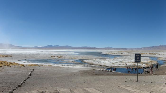 In Bolivia, verso Uyuni