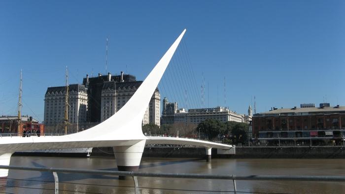 Puente de la mujer - Baires