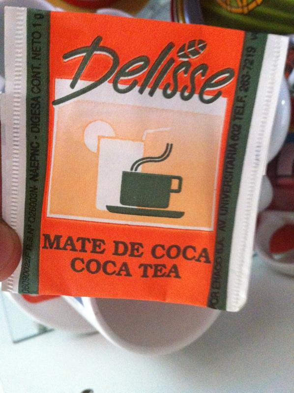bustina Delisse mate de coca