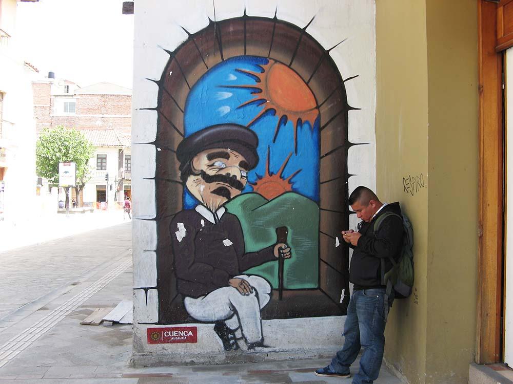 Street Art en Cuenca (Ecuador)