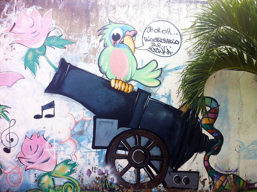 Street art Cartagena - Colombia