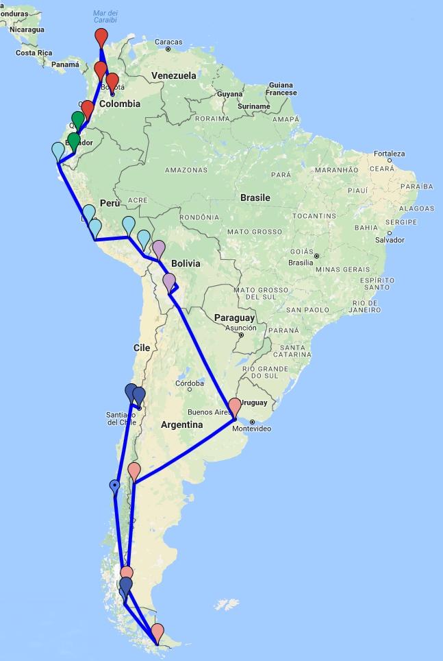 sudamerica_2016_17 - dalla Colombia alla Tierra del Fuego