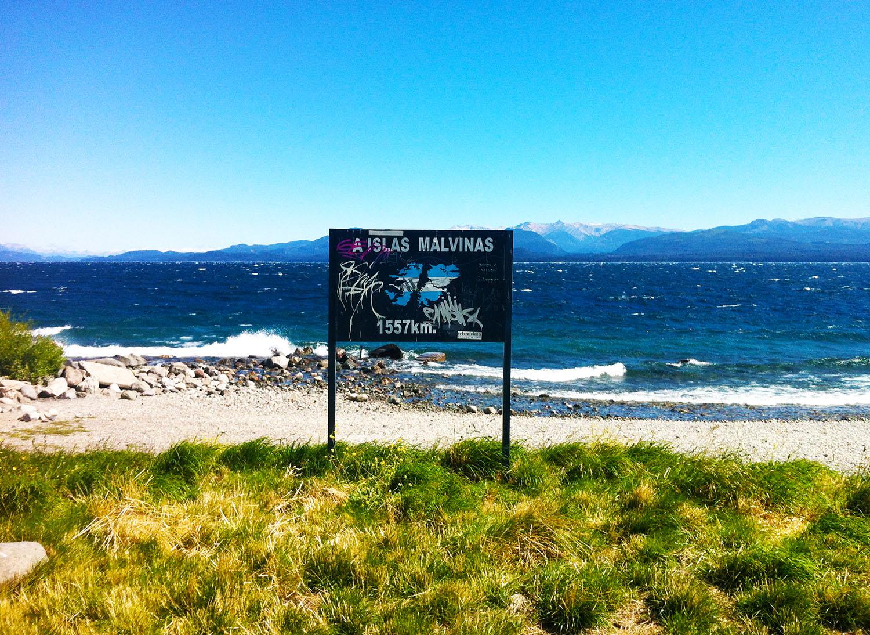 ricordo delle Malvinas a Bariloche