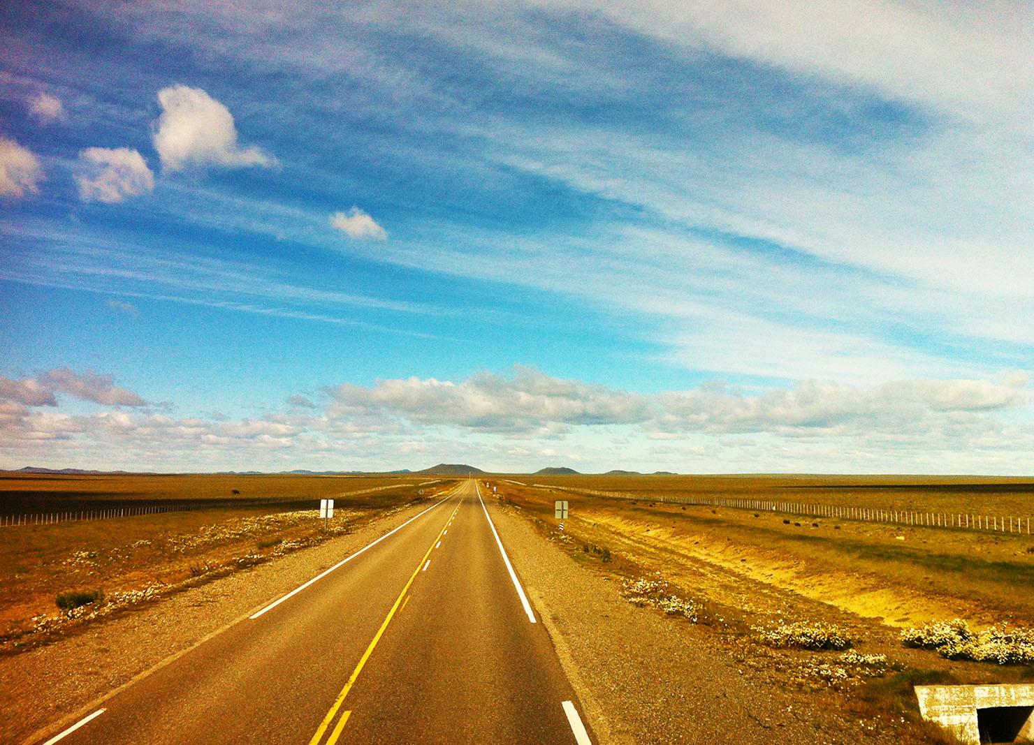 desert of Patagonia