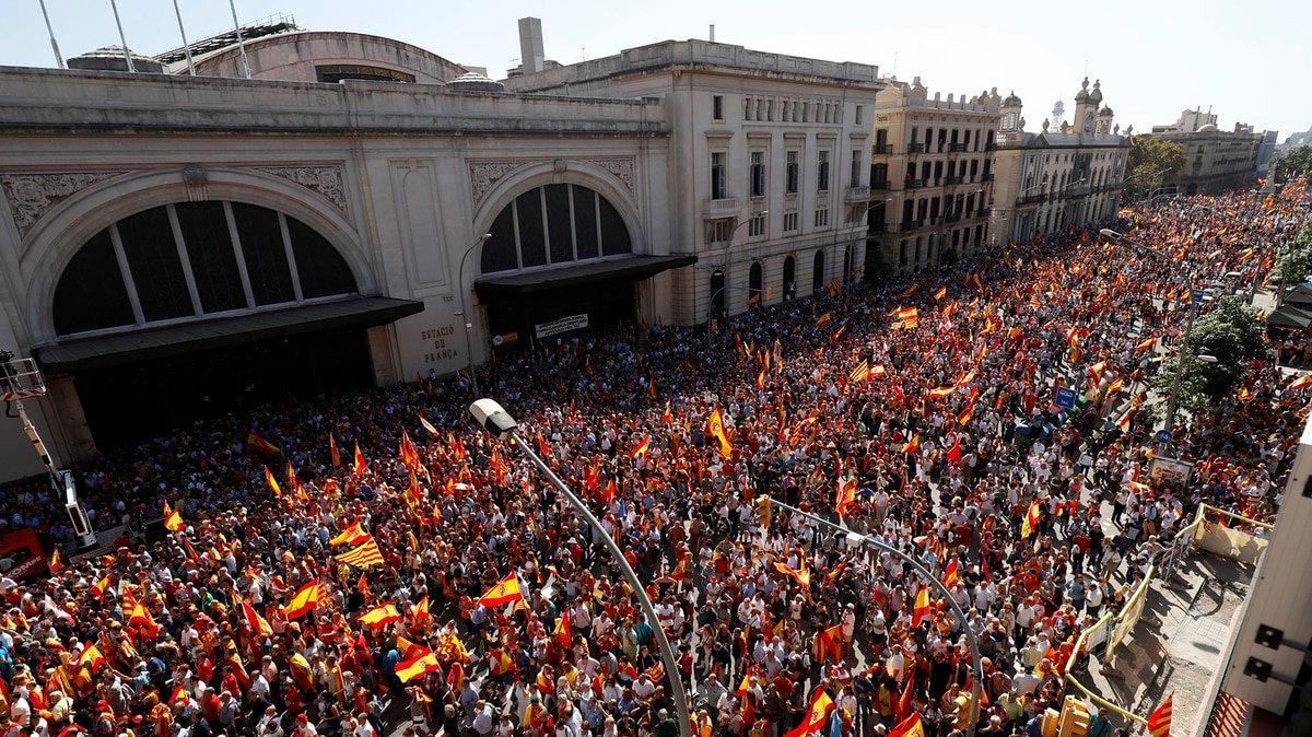 Unionisti a Barcellona