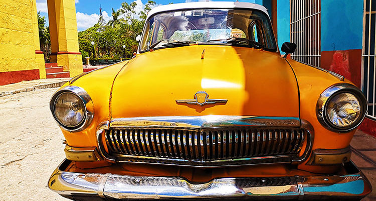 Auto a Trinidad
