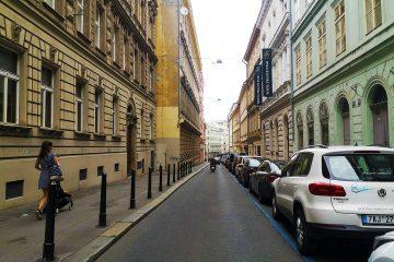 Street in Praga