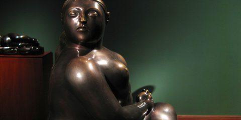 Botero - mujer